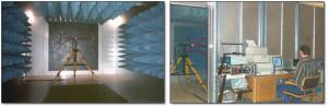 The EMC test room at LS Elektronik