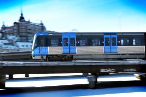 Metro train of the newer C20-type