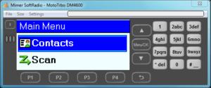 Virtual Control Head MotoTrbo