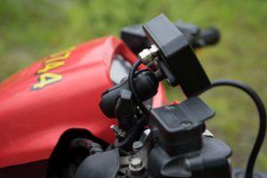 Sirius mounted on a quad bike