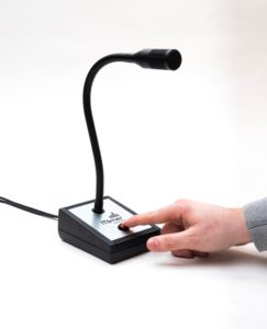 3110 - Heavy Duty Table Top Microphone