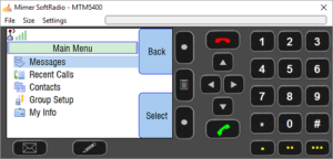 Virtual Control Head for MTM5400