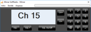 Virtual Control Head Jotron 7750C