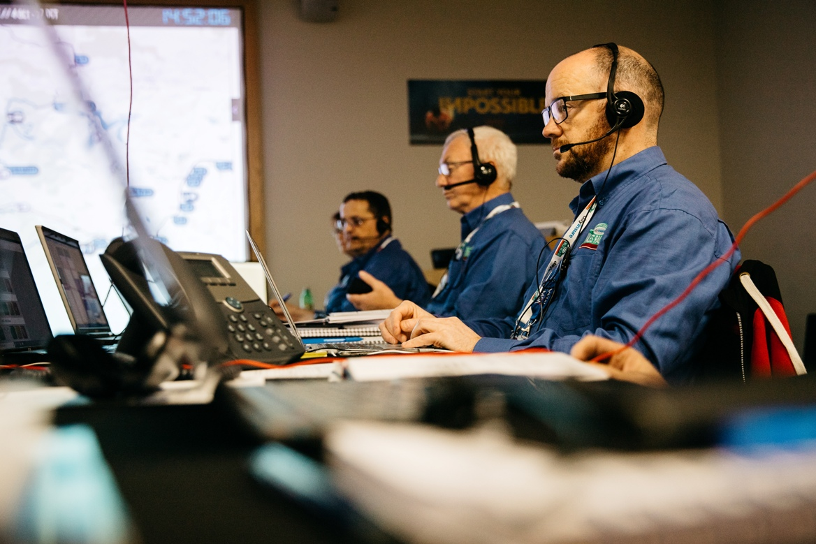 Radio Controllers at Wales Rally GB