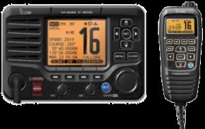 Icom IC-M506 with HM-195B