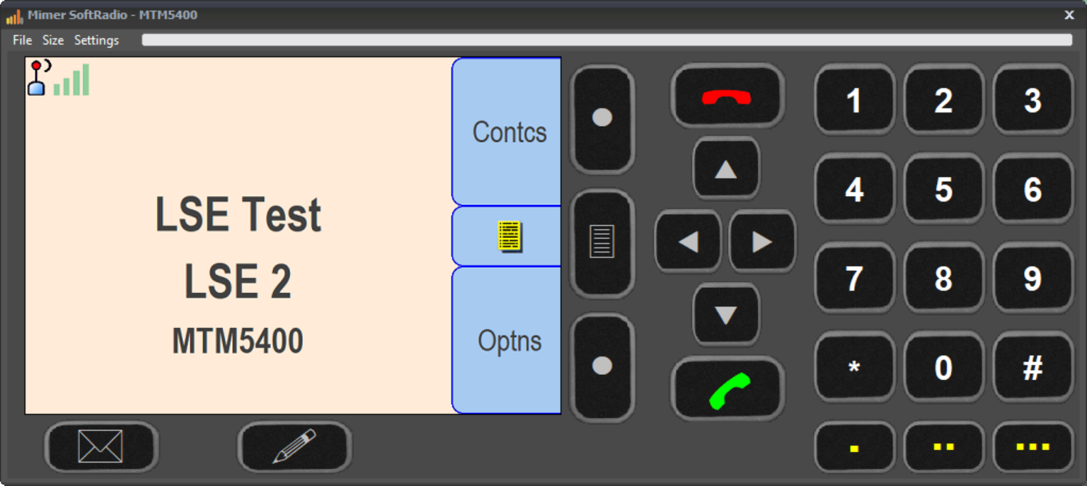 Virtual Control Head, MTM5400