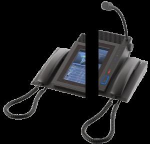 BeFree10 showing handset mounting