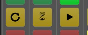 Alternative use of the yellow key